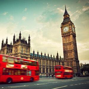 下星期一齊去英國!