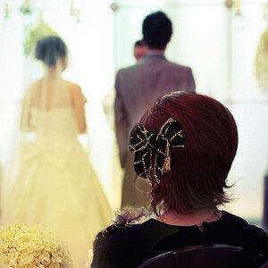 朋友們都結婚去了~