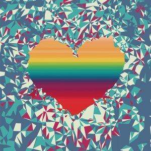 愛是彩色的,請大膽說愛。