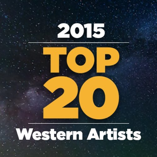 Top 20 Western Artistes 2015