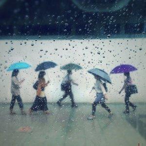 愛下雨的城市,是我充滿回憶的地方