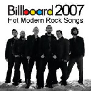 美國告示牌2007年終榜<BR>Hot Modern Rock Songs