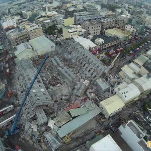 為台南震災民眾祈福
