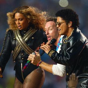 Coldplay超級盃中場表演歌單