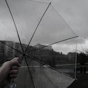 雨水的城市心情 : 匆匆的時間放慢腳步吧。