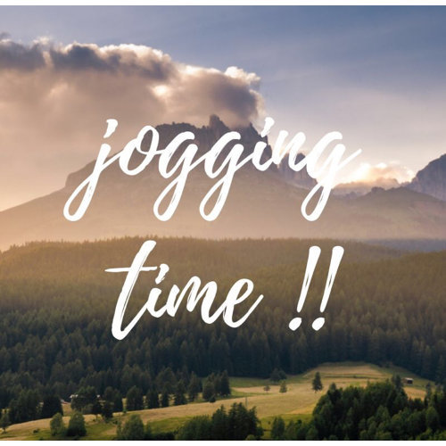 Jogging早起跑步運動去🏃♀️
