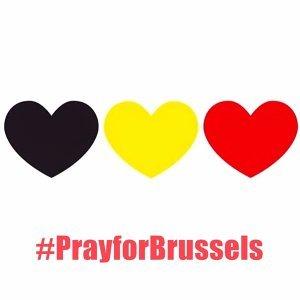 送愛到比利時 #PrayforBrussels #Belgium