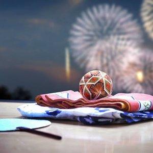 夏日限定#煙花祭典