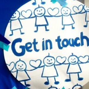 Autism Dayには青色を身に纏って。