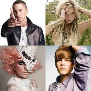 2010年度Billboard 百大單曲