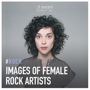 Gorgeous And Tough: Images of Female Rock Artists