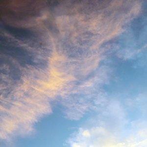 一個美麗的天空,一趟浪漫的旅行