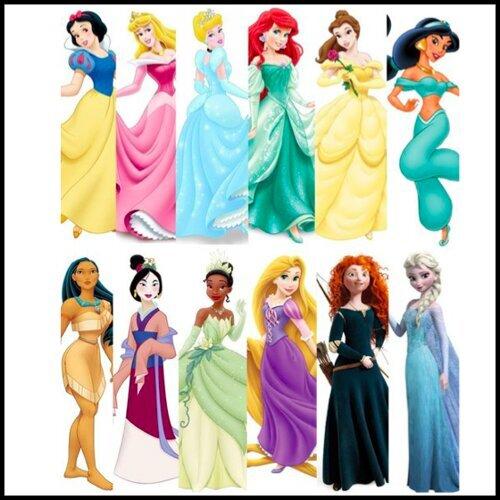 迪士尼公主永遠同在。