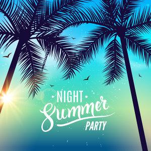 夏夜裡的輕電音