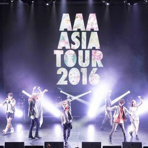 AAA 2016亞洲巡迴演唱會歌單