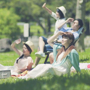 野餐兼外拍,陽光是最好的美肌模式