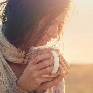喝杯咖啡暖暖身!