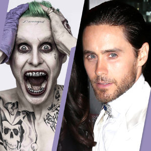 Aim right at your heart! The new Joker, Jared Leto