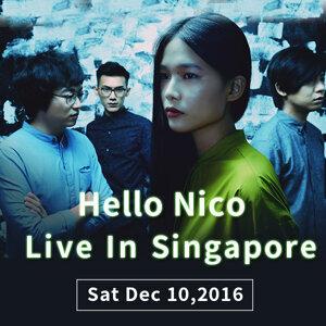 Hello Nico《闭上眼睛》EP发表演唱会新加坡站