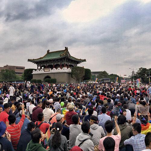 世界人權日 群星齊集凱道高歌