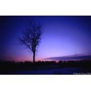 The dusk-like blue...日落的藍色