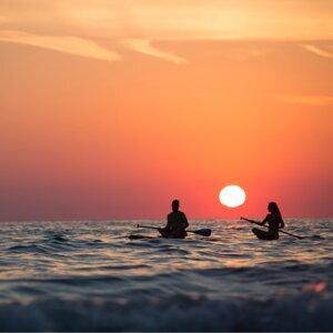 落日之前海浪輕輕聽🌊