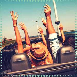 難得假日!跟夥伴來趟輕快的旅行吧!