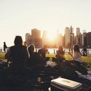 食物飲料野餐墊 少了音樂就不完美