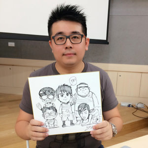 LINE WEBTOON音樂漫畫- 阿建<基情告白>