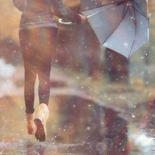就算鞋子進水也打不倒我的好心情!