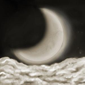 月光下,我更想你
