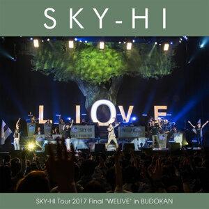 "SKY-HI - SKY-HI Tour 2017 Final ""WELIVE"" in BUDOKAN"