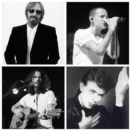 這些年,離我們而去的樂壇巨星