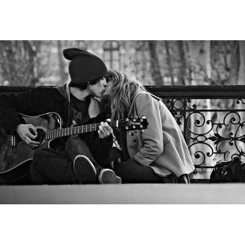 她唱歌,他彈琴:有吉他的R&B情歌