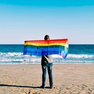 愛,在你我心中劃下一道彩虹