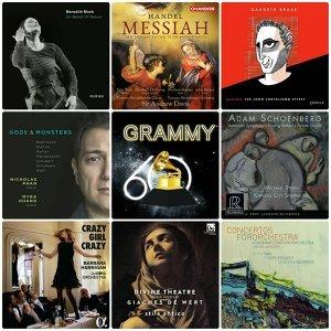 第60屆葛萊美古典音樂獎入圍