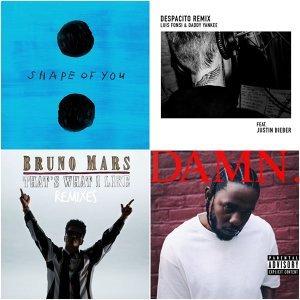 美國告示牌 2017年度 百大單曲