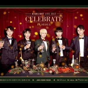HIGHLIGHT 2018 CELEBRATE IN TAIPEI 演唱會歌單