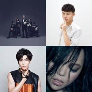 光南 2017 年華語專輯銷量 TOP20
