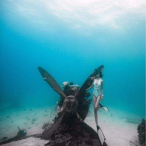 ):(OKA):(二次大戰戰機太平洋聞名海底古蹟):(感動我心):(