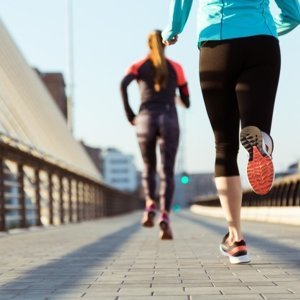 跑步!享受速度感!