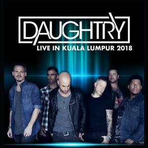 Daughtry Live in Kuala Lumpur 2018