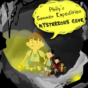 暑假的兒童故事時光~小菲爾的夏日探險系列