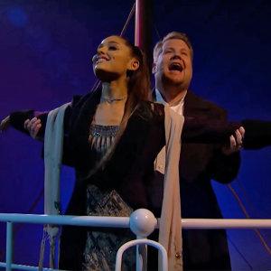 致敬「鐵達尼號」!亞莉安娜與詹姆士柯登唱了這13首歌