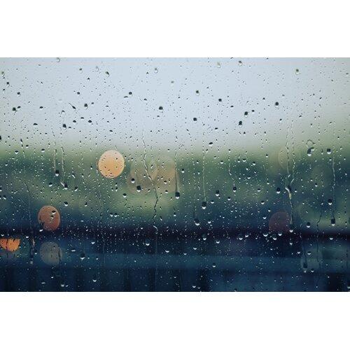 外面下雨了