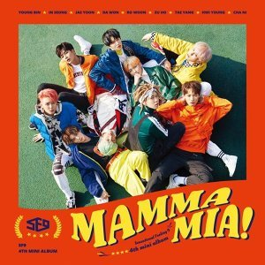 SF9 - SF9第4張迷你專輯 MAMMA MIA! (SF9 4th Mini Album  MAMMA MIA!)SF9