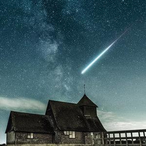 若能化作星星在夜晚守護你