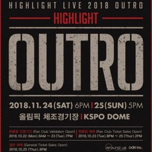 HIGHLIGHT LIVE 2018 [OUTRO]