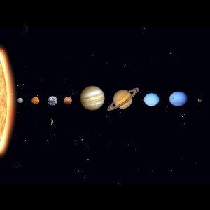 太陽系,來點夜晚的光!