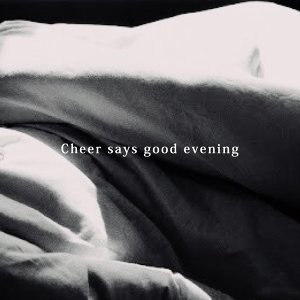 Cheer says good evening:綺貞說晚安